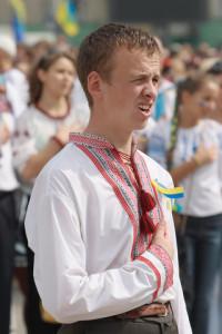 El hombre ucraniano