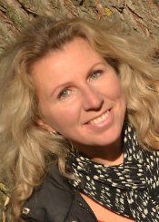 Anzhelika eine ukrainische Frau