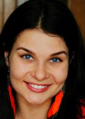 Foto von Ksenia - eine Frau aus der Ukraine auf Partnersuche