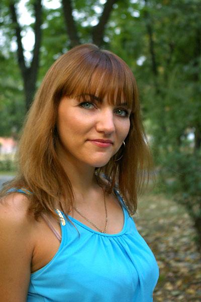 Ukrainische Frauen Partnervermittlung Svetlana eine hübsche ukrainische Frau, Foto (1)