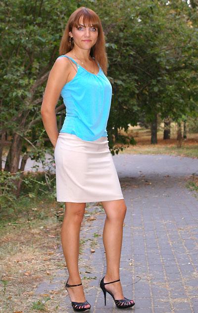 Ukrainische Frauen Partnervermittlung Svetlana eine hübsche ukrainische Frau, Foto (2)