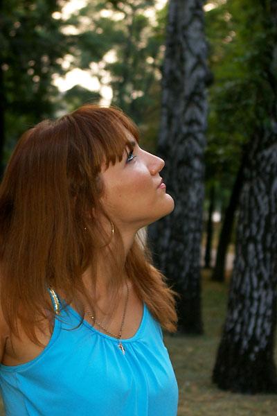 Ukrainische Frauen Partnervermittlung Svetlana eine hübsche ukrainische Frau, Foto (3)