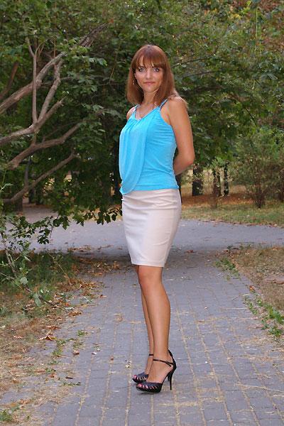 Ukrainische Frauen Partnervermittlung Svetlana eine hübsche ukrainische Frau, Foto (4)