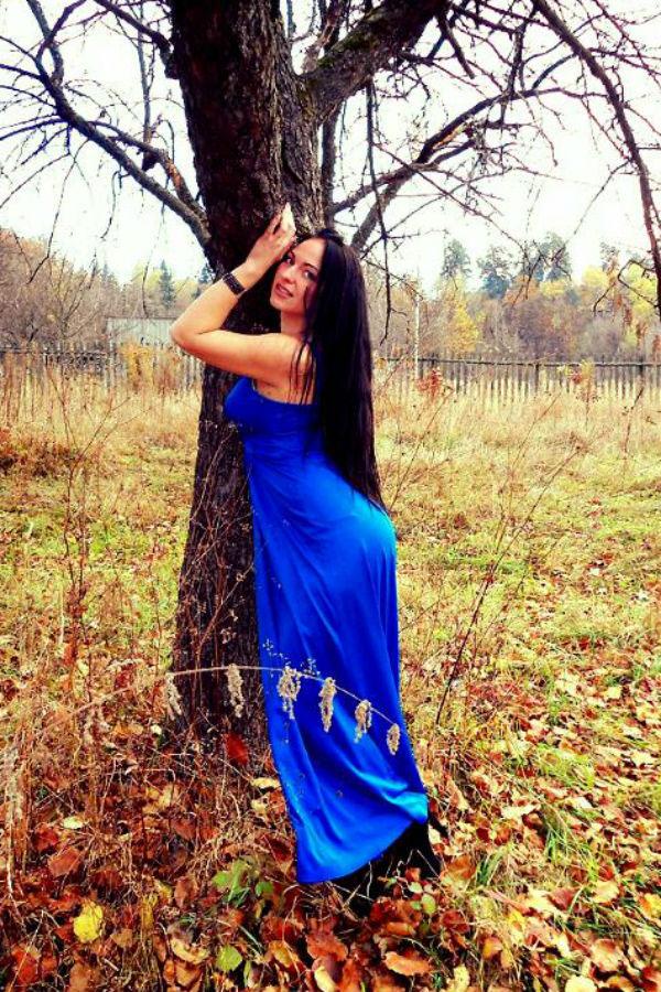 Ukrainische Frauen Partnervermittlung Evgenia eine hübsche ukrainische Frau, Foto (1)