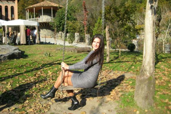 Ukrainische Frauen Partnervermittlung Alina eine hübsche ukrainische Frau, Foto (1)