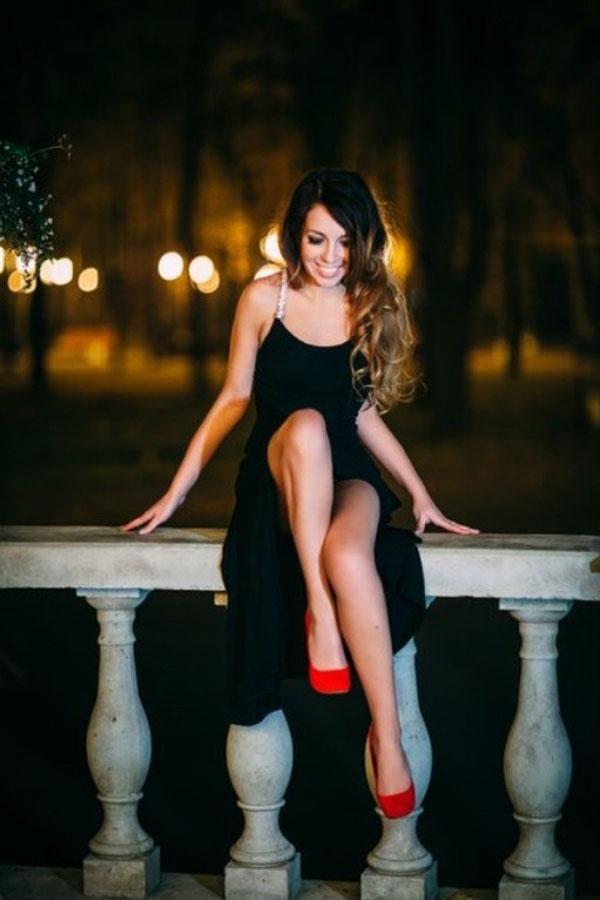 Ukrainische Frauen Partnervermittlung Olga eine hübsche ukrainische Frau, Foto (6)