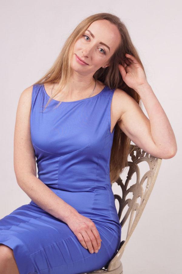 Ukrainische Frauen Partnervermittlung Svetlana eine hübsche ukrainische Frau, Foto (6)