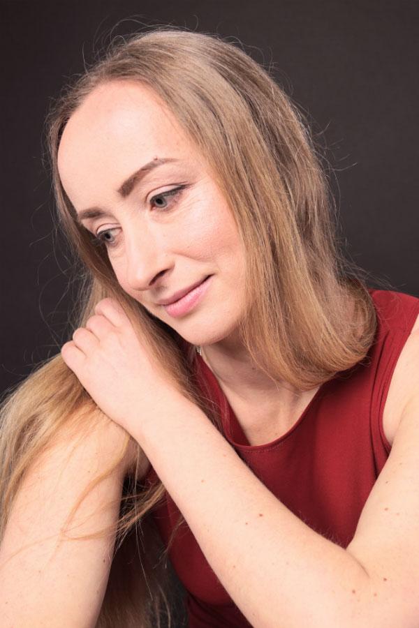 Ukrainische Frauen Partnervermittlung Svetlana eine hübsche ukrainische Frau, Foto (7)