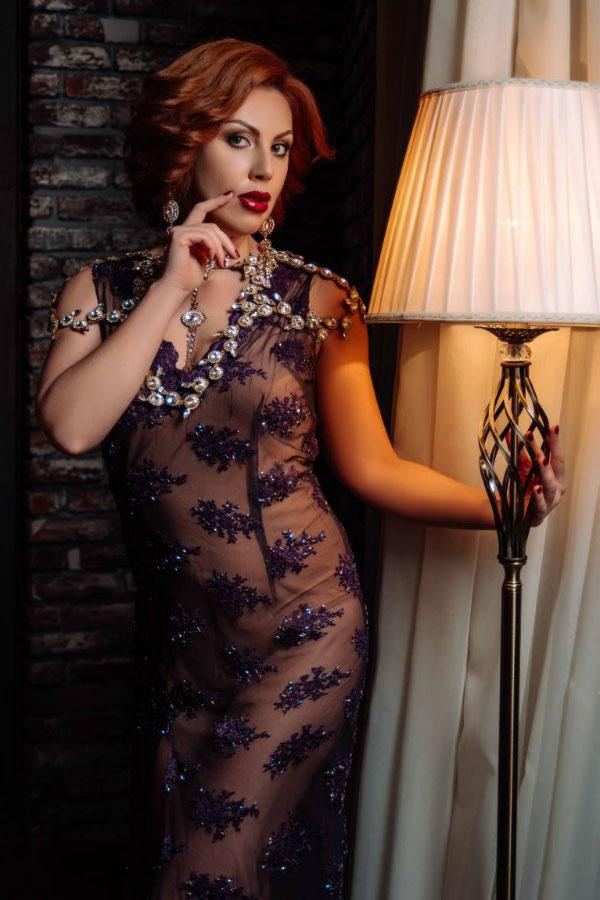 Ukrainische Frauen Partnervermittlung Irina eine hübsche ukrainische Frau, Foto (7)