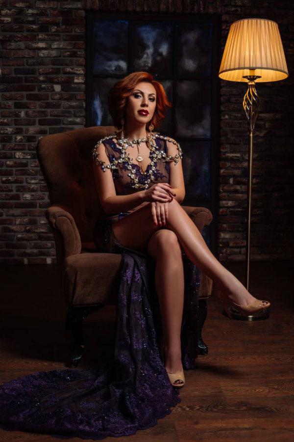 Ukrainische Frauen Partnervermittlung Irina eine hübsche ukrainische Frau, Foto (8)