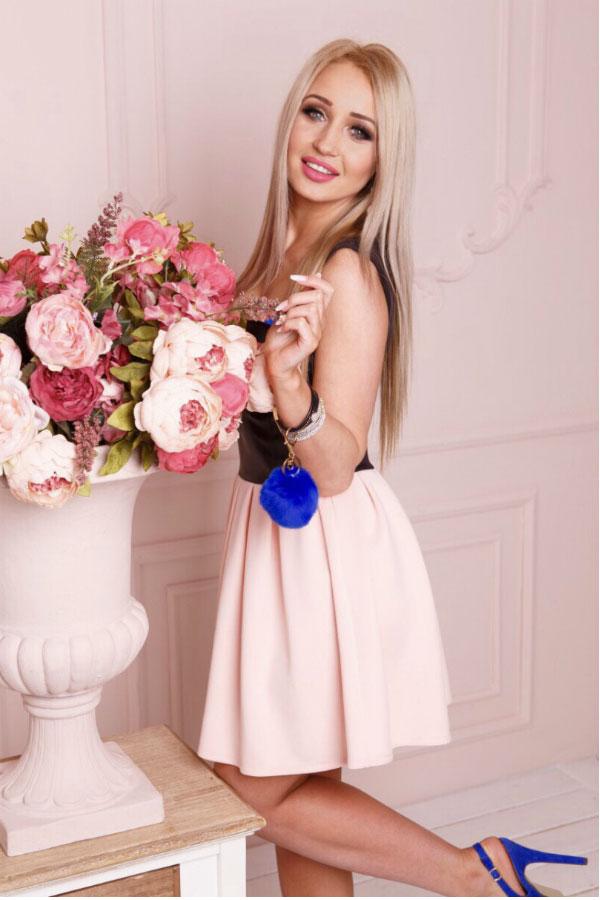 Ukrainische Frauen Partnervermittlung Alla eine hübsche ukrainische Frau, Foto (5)