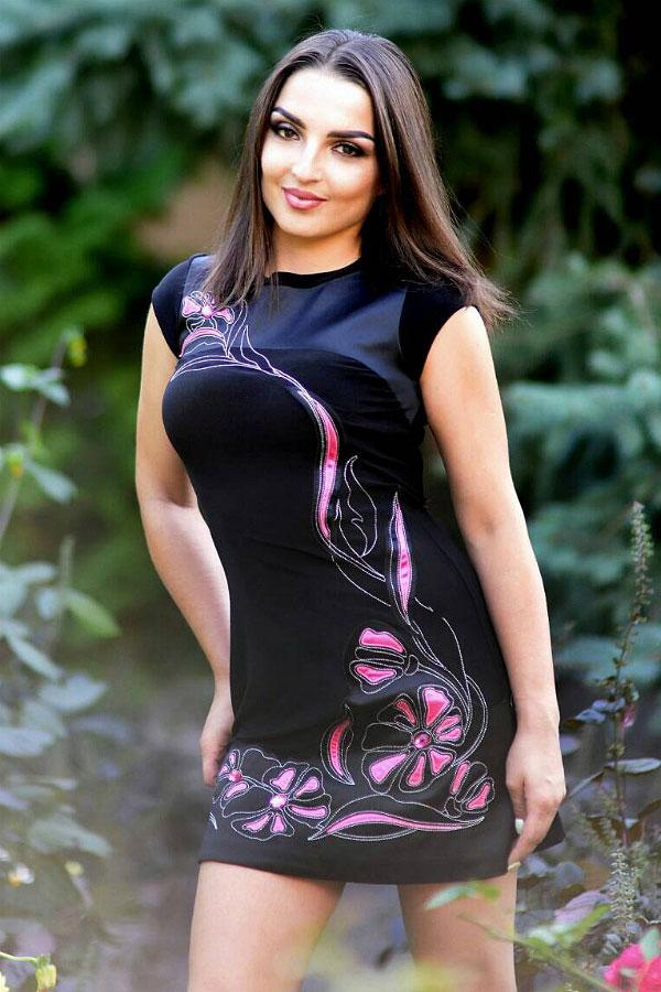 Ukrainische Frauen Partnervermittlung Alla eine hübsche ukrainische Frau, Foto (4)