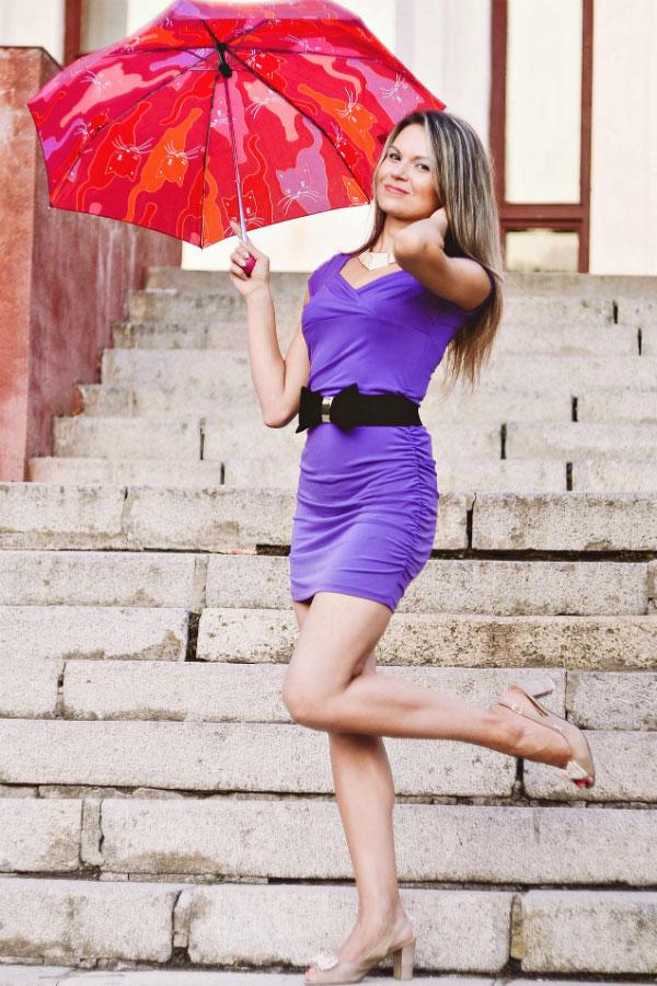 Ukrainische Frauen Partnervermittlung Marina eine hübsche ukrainische Frau, Foto (1)
