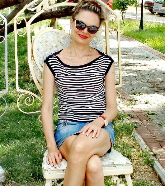 Ukrainische Frauen Partnervermittlung Marina eine hübsche ukrainische Frau, Foto (4)