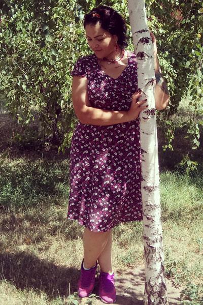 Ukrainische Frauen Partnervermittlung Lyubov eine hübsche ukrainische Frau, Foto (1)
