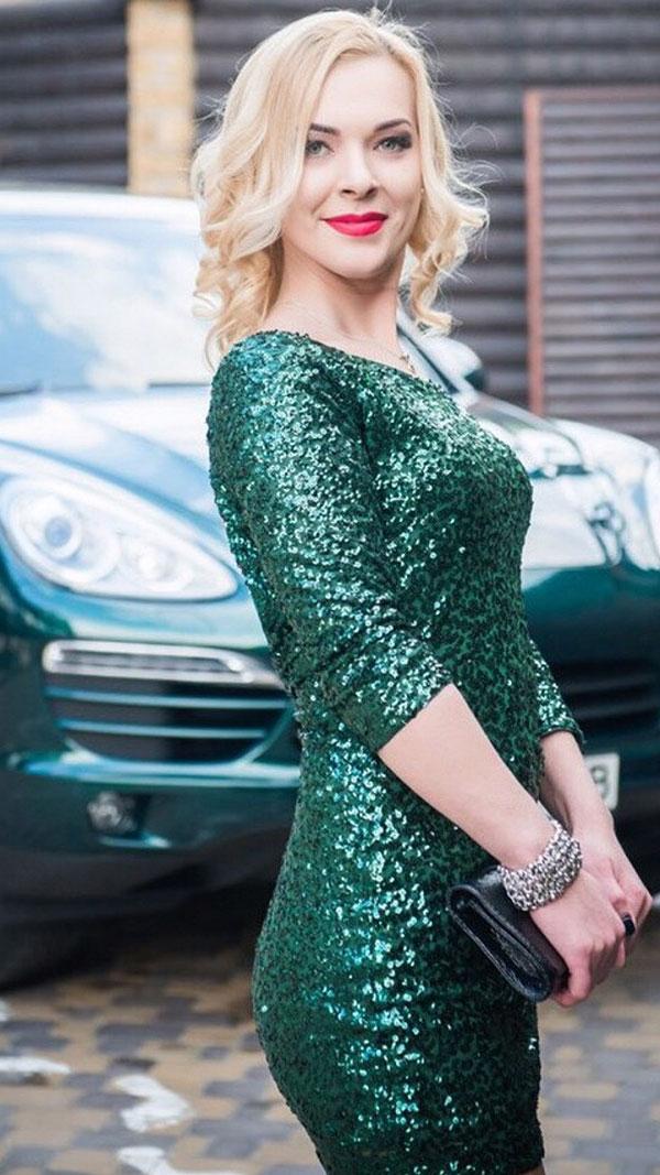 Ukrainische Frauen Partnervermittlung Alyona eine hübsche ukrainische Frau, Foto (1)