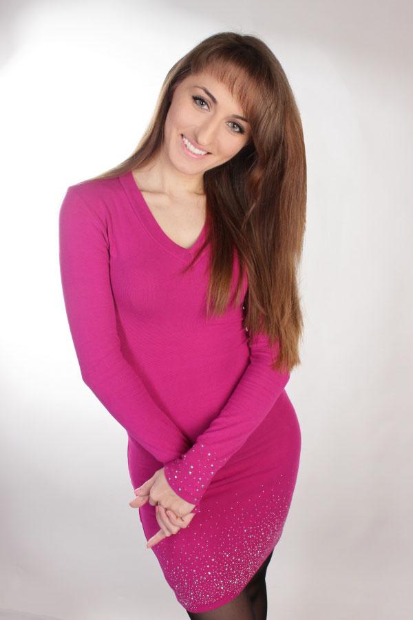 Ukrainische Frauen Partnervermittlung Olena eine hübsche ukrainische Frau, Foto (3)