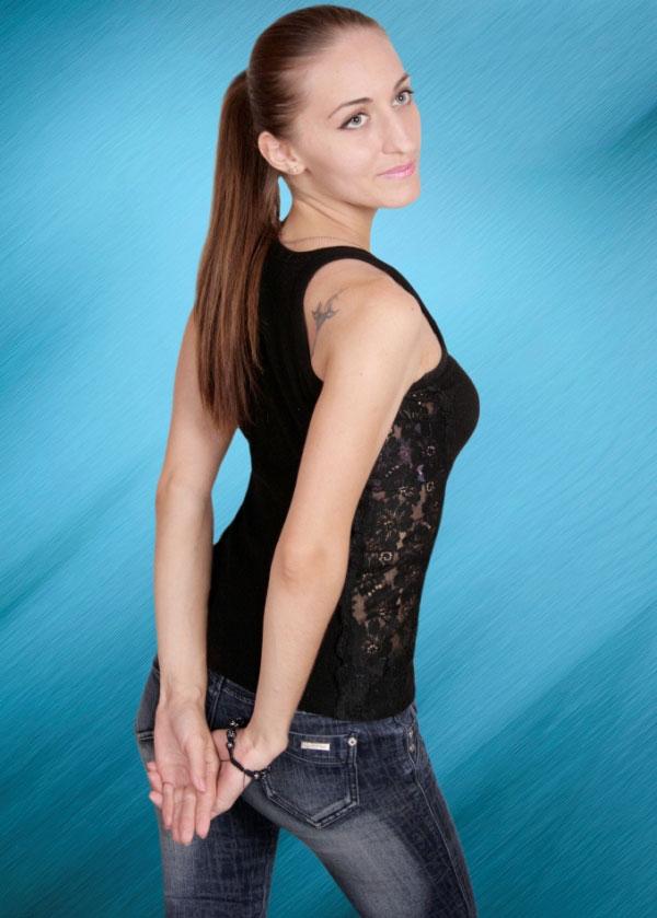 Ukrainische Frauen Partnervermittlung Olena eine hübsche ukrainische Frau, Foto (4)