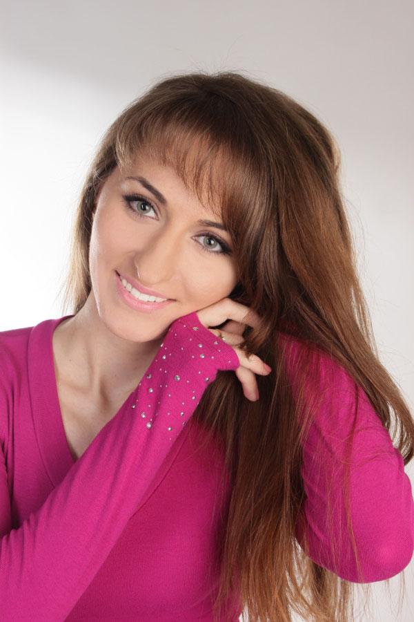 Ukrainische Frauen Partnervermittlung Olena eine hübsche ukrainische Frau, Foto (5)