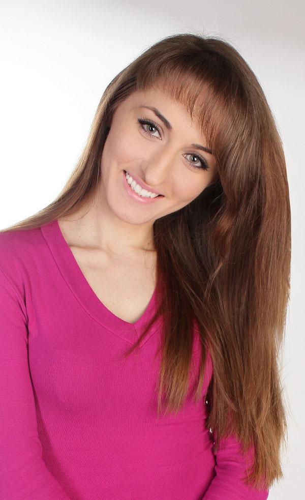 Ukrainische Frauen Partnervermittlung Olena eine hübsche ukrainische Frau, Foto (6)