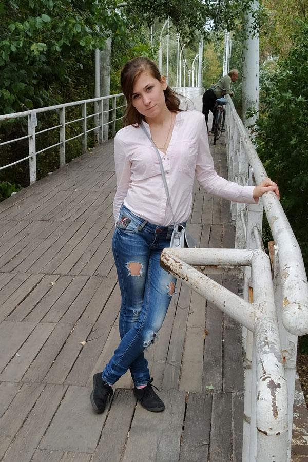 Ukrainische Frauen Partnervermittlung Viktoria eine hübsche ukrainische Frau, Foto (3)