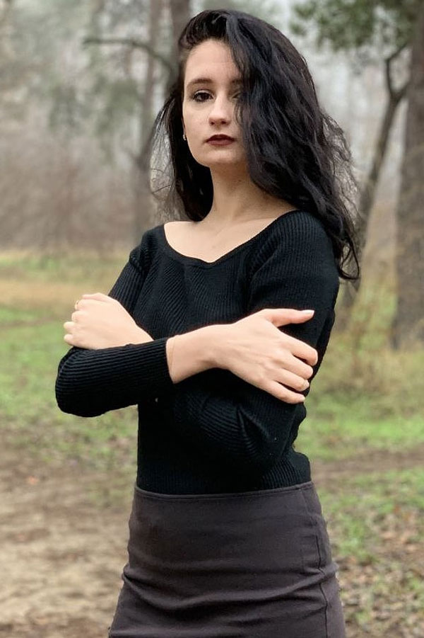 Ukrainische Frauen Partnervermittlung Oksana eine hübsche ukrainische Frau, Foto (1)
