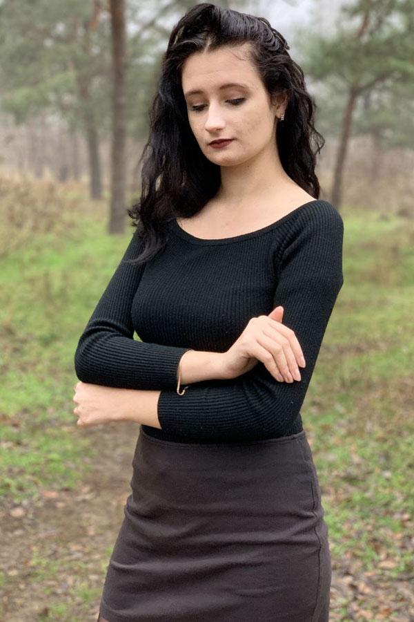 Ukrainische Frauen Partnervermittlung Oksana eine hübsche ukrainische Frau, Foto (2)