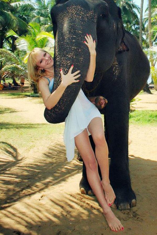 Ukrainische Frauen Partnervermittlung Karina eine hübsche ukrainische Frau, Foto (4)