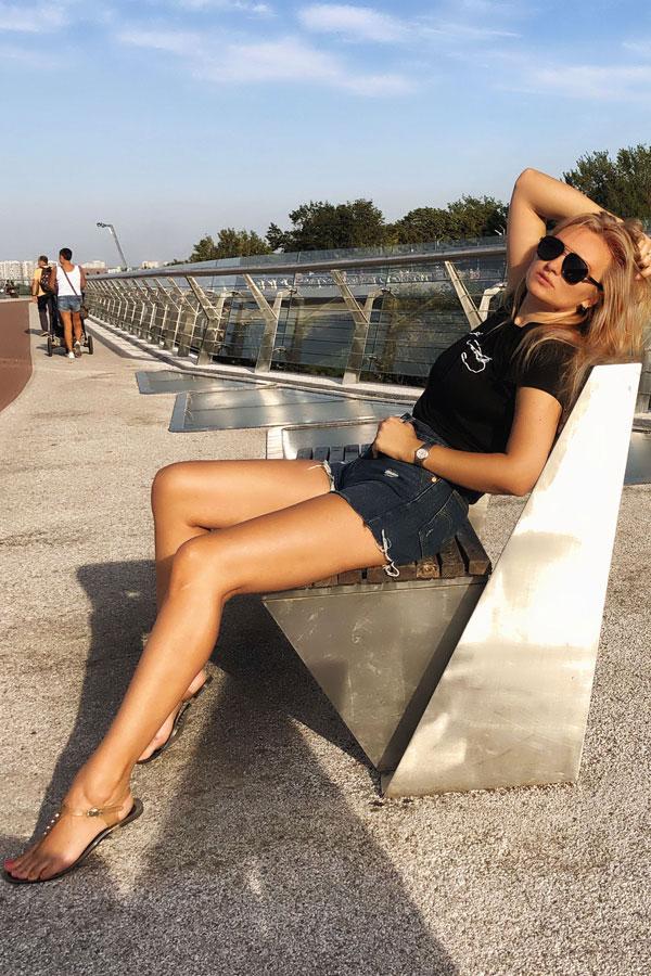Ukrainische Frauen Partnervermittlung Karina eine hübsche ukrainische Frau, Foto (7)