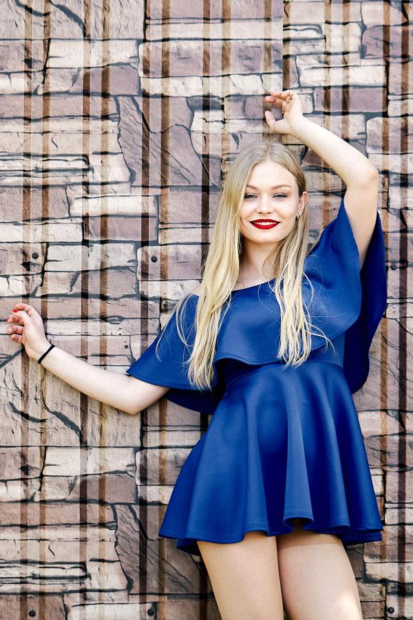 Ukrainische Frauen Partnervermittlung Sofia eine hübsche ukrainische Frau, Foto (5)