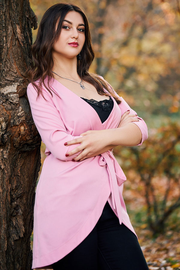 Ukrainische Frauen Partnervermittlung Alina eine hübsche ukrainische Frau, Foto (2)