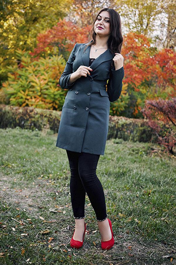 Ukrainische Frauen Partnervermittlung Alina eine hübsche ukrainische Frau, Foto (3)