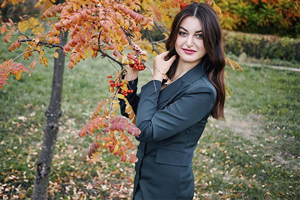 Ukrainische Frauen Partnervermittlung Alina eine hübsche ukrainische Frau, Foto (5)