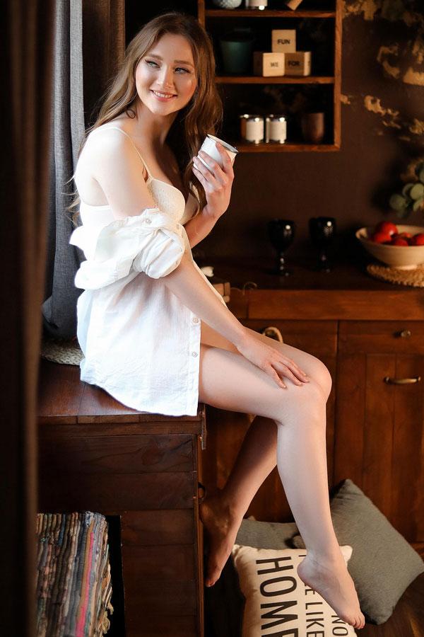 Ukrainische Frauen Partnervermittlung Ekaterina eine hübsche ukrainische Frau, Foto (6)