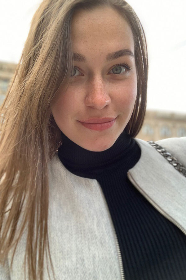 Ukrainische Frauen Partnervermittlung Valeria eine hübsche ukrainische Frau, Foto (2)