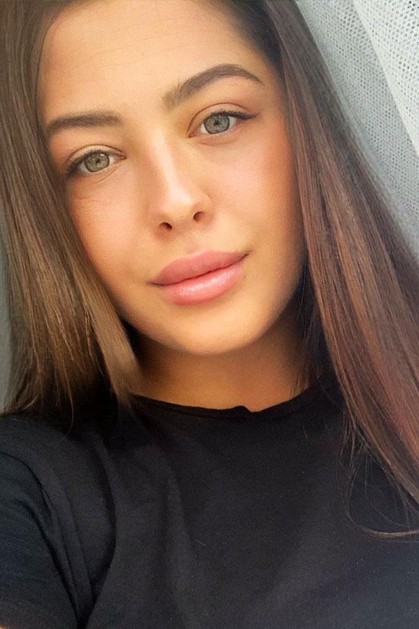 Ukrainische Frauen Partnervermittlung Yulia eine hübsche ukrainische Frau, Foto (1)