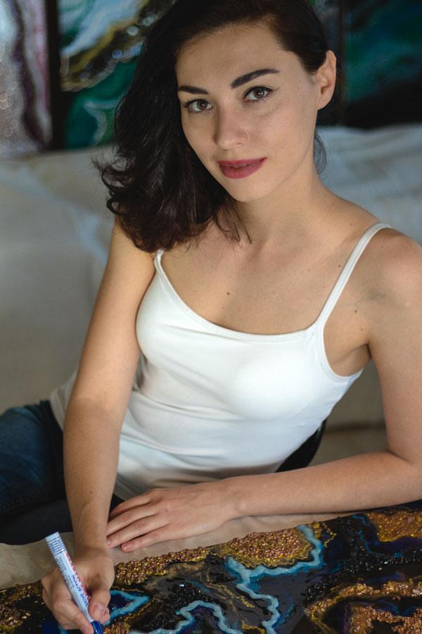 Ukrainische Frauen Partnervermittlung Ekaterina eine hübsche ukrainische Frau, Foto (5)