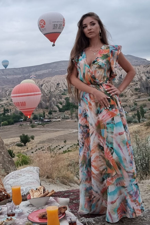 Ukrainische Frauen Partnervermittlung Polina eine hübsche ukrainische Frau, Foto (1)