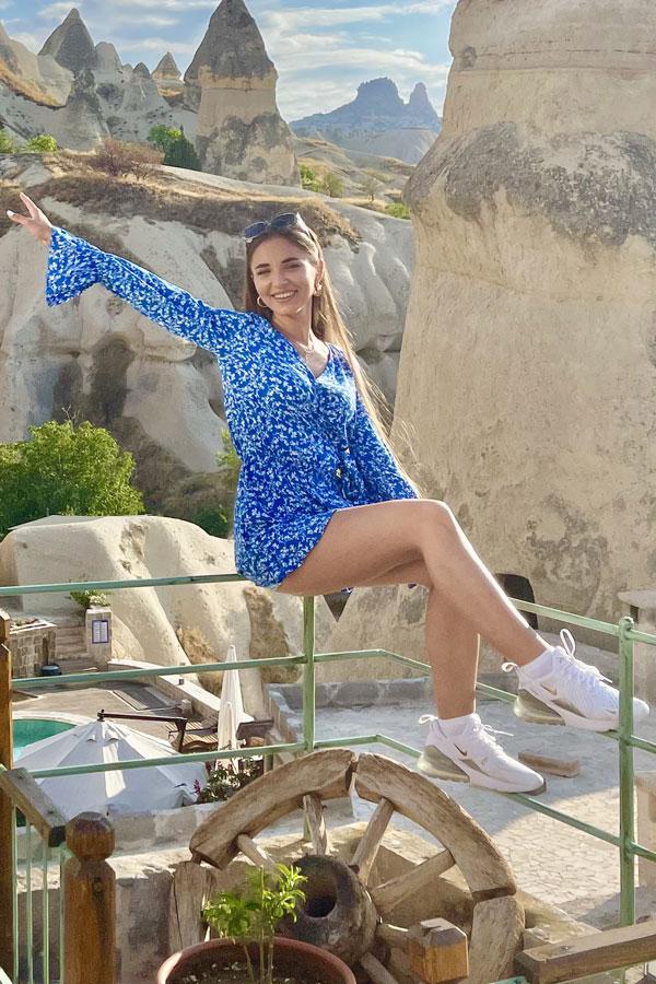 Ukrainische Frauen Partnervermittlung Polina eine hübsche ukrainische Frau, Foto (3)
