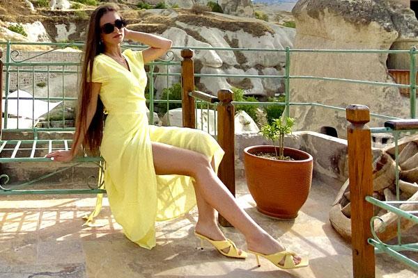 Ukrainische Frauen Partnervermittlung Polina eine hübsche ukrainische Frau, Foto (7)