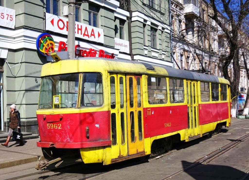 Strassenbahn-in-Kiev