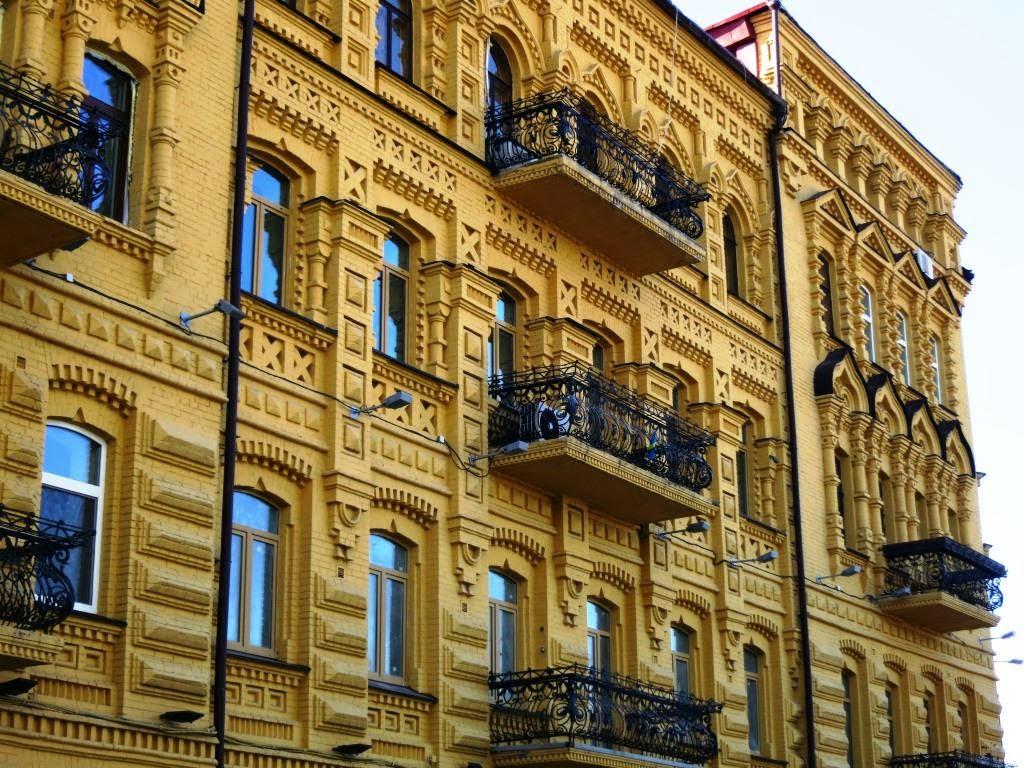 renovierte-Hausfassade-Kiev