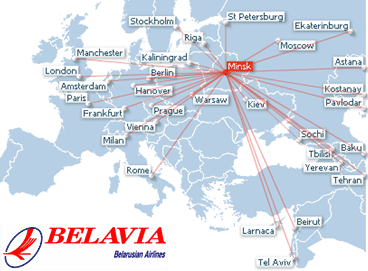 belavia-route-map