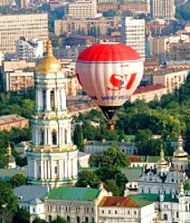 Kiev-Ballon-fahren