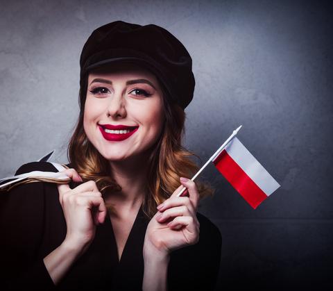 Polnische Frau